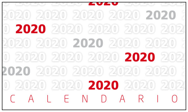 Calendario 2020 Da Stampare Gratis.Calendario Personalizzato Da Scrivania Molto Economico