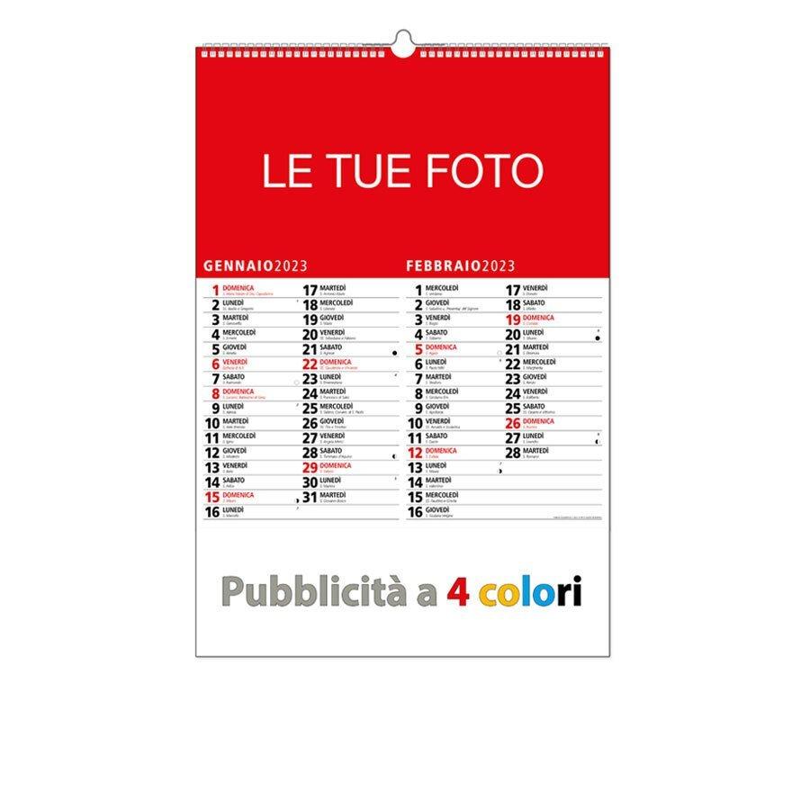 Calendario 2020 Settimanale Da Stampare.Calendari Personalizzati 2020 Perfetti Per Gli Omaggi Aziendali